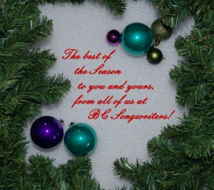 Happy Holidays from BC Songwriters - BCSongwriters.ca