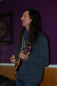 John Haynes, performing at the BC Songwriters' Open Mic, in Langley - BCSongwriters.ca