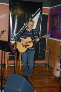 Cornel Dyke - performing at the BC Songwriters' Showcase - BCSongwriters.ca