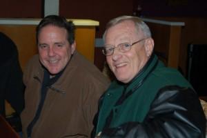 Dan Beer and Jim McGregor enjoying the show - BCSongwriters.ca