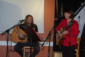 Jamie Zago & Patricia Dunphy - performing at the BC Songwriters' Showcase - BCSongwriters.ca