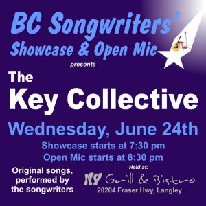 The Key Collective  - BC Songwriters' Showcase - BCSongwriters.ca