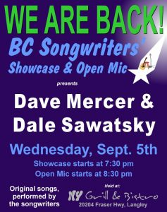 BC Songwriters is back, and better than ever! - BCSongwriters.ca