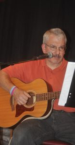Bob Gray - Performing at the BC Songwriters Open Mic