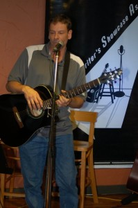 Troy Godfrey - Performing at the BC Songwriters' Showcase Open Mic