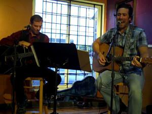 Troy Godfrey & Glen Mager - BC Songwriters' Showcase - Langley, BC